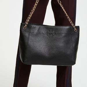 Tory burch chain slouchy shoulder tote